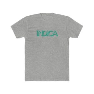 'Indica' Men's Cotton Crew Tee