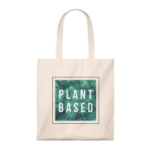 'Plant Based' Tote Bag – Vintage