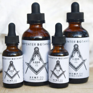 Hemp Oil Tinctures