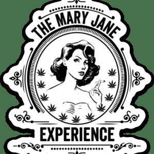 Mary Jane Experience Sticker Original