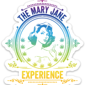 Mary Jane Experience Sticker