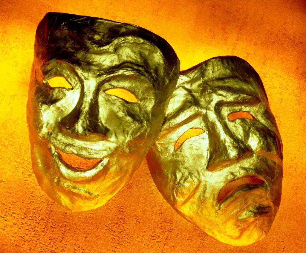 Drama - Comedy and tragedy masks