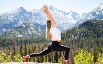 4 posturas de yoga para la tiroides.