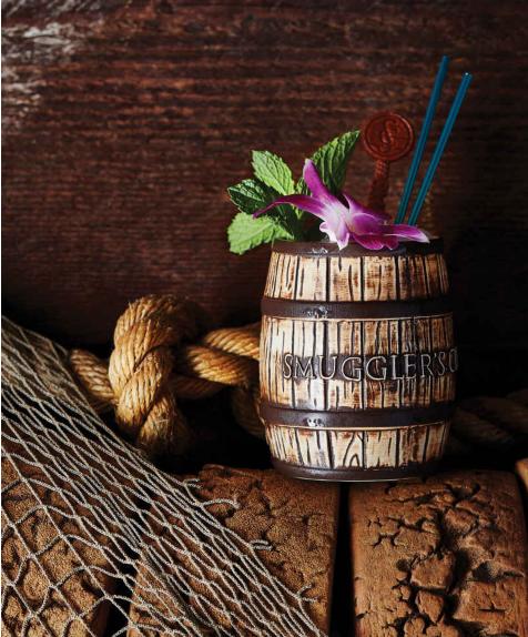 rum barrel cocktail