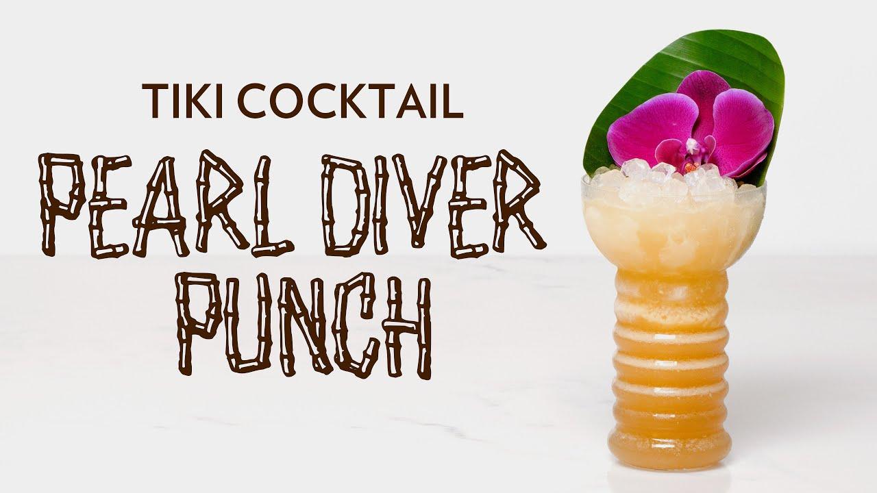 pearl diver cocktail