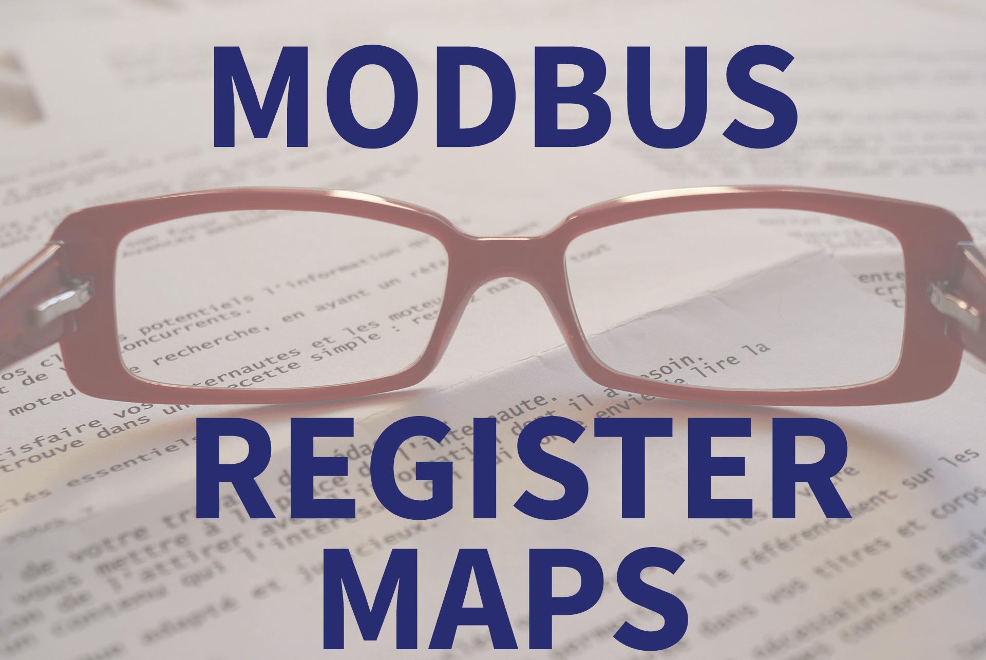 modbus register maps