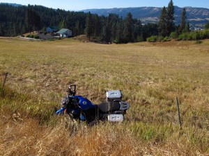 Bike in Field 2 sm