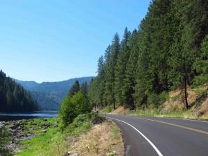 Road along river sm