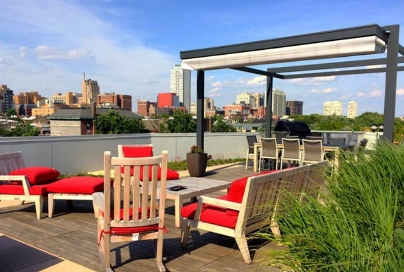 City Rooftop Terrace