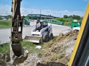 commercial excavating service near ypsilanti mi