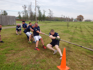 One of two Sheriff's Office teams that took part, which included Lt.. Chip Englande, Lt. Justin Meyers, Cpl. Daniel Bostic and deputies Byron Shoemaker, Tommy Duplessis and Carlo Cacioppo.