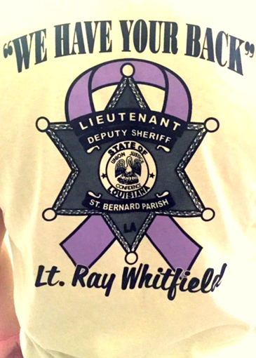 The shirt designed for the fundraiser.