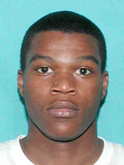 Ronald Francois, arrested with a gun in Arabi.