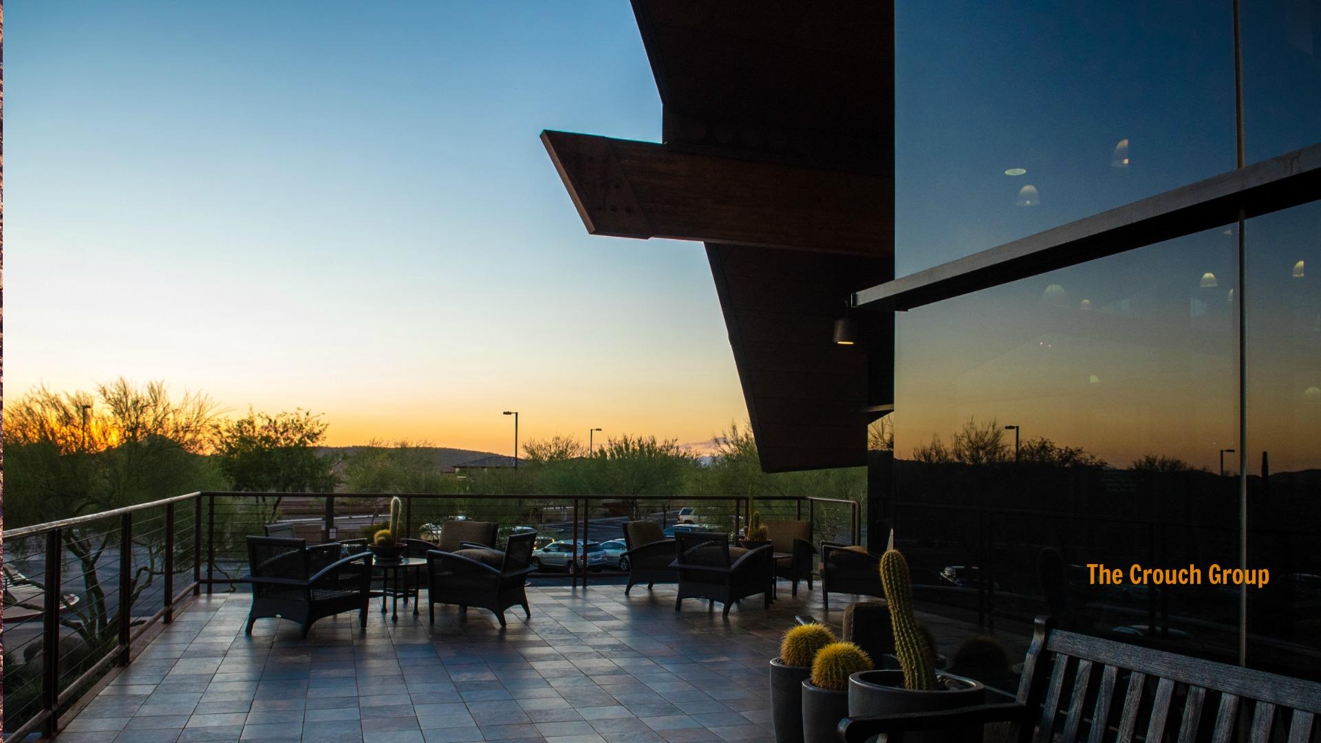 Sunset view from Fireside Norterra community