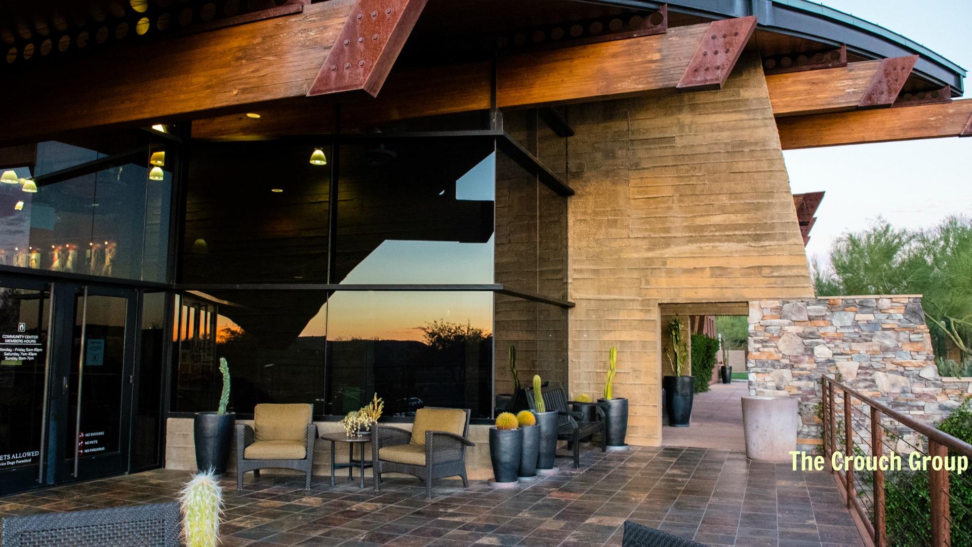 Seaating area Community Center Fireside Norterra