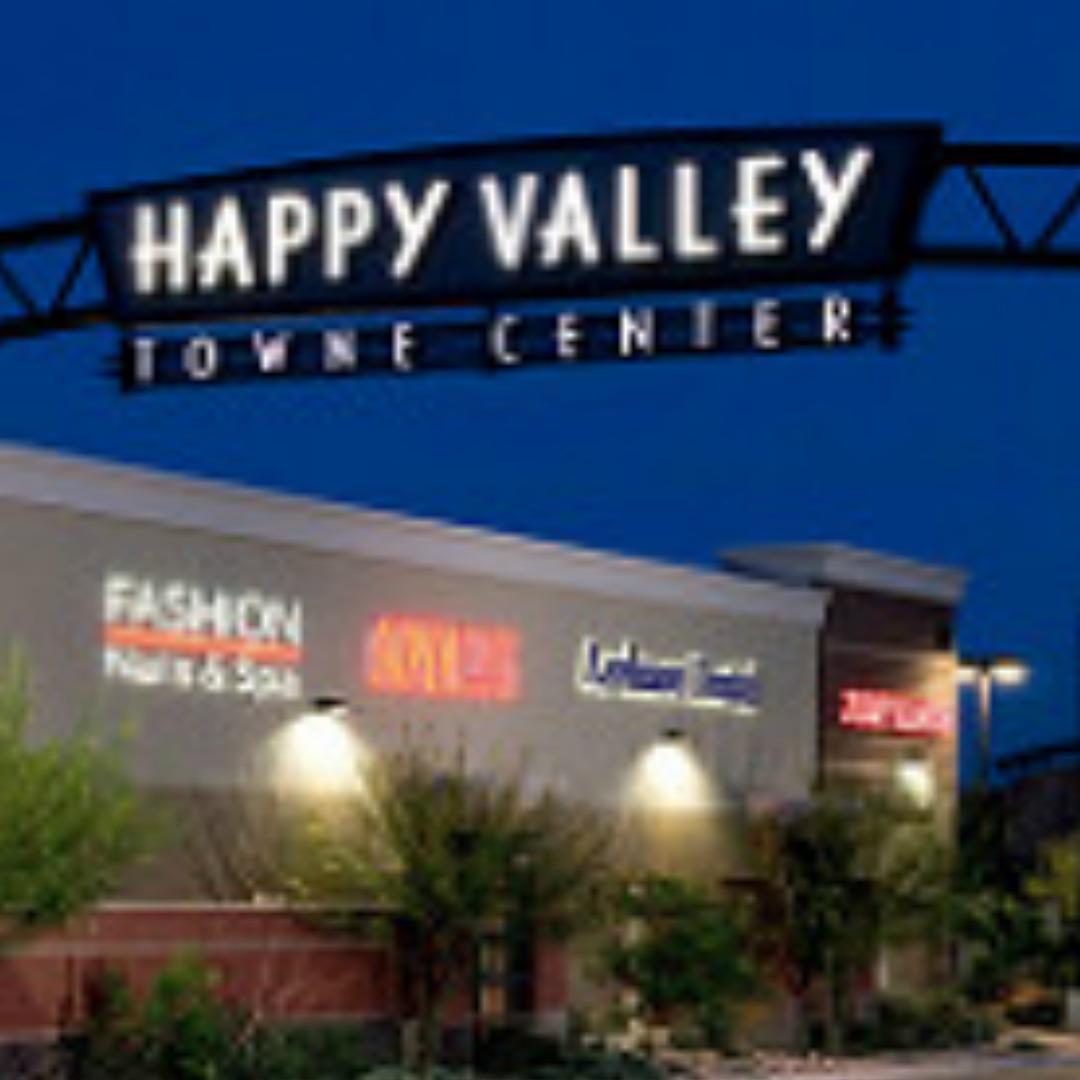 Happy Valley Towne Center Sign in Norterra