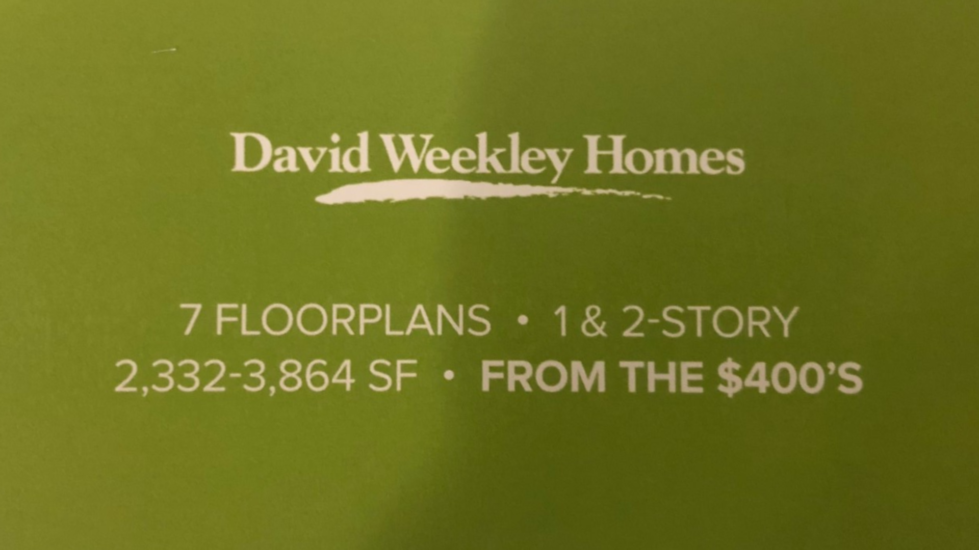 David Weekley Homes for sale at Union Park Norterra