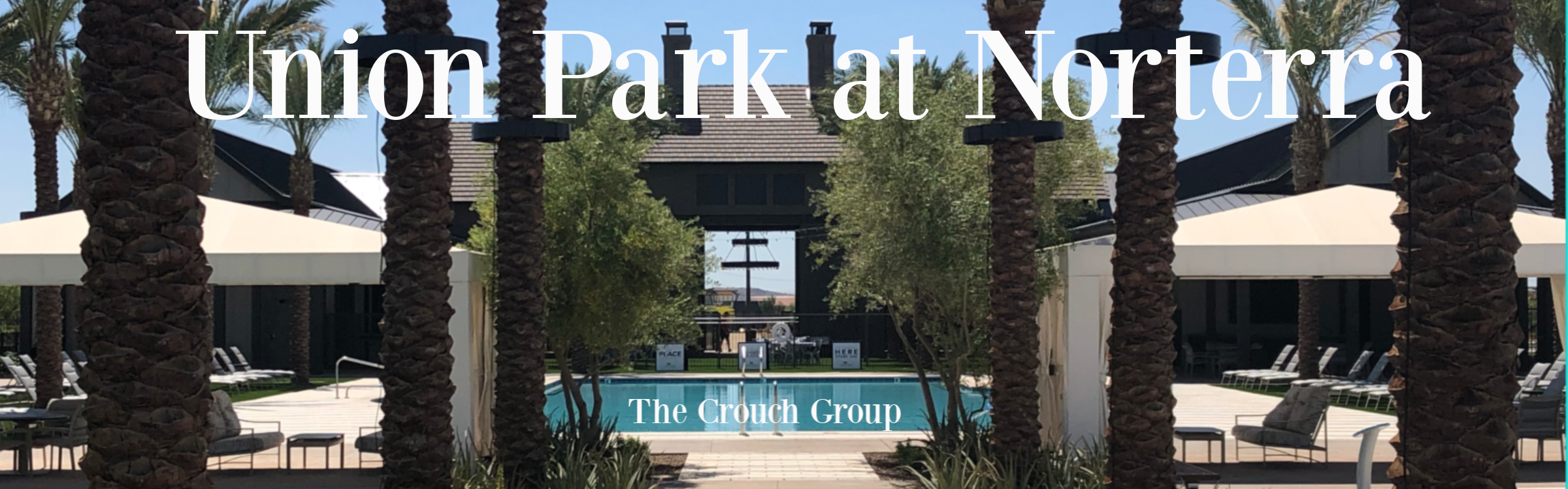 Union Park at Norterra Pool homes for sale
