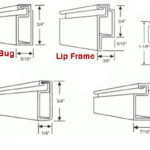 Window screen frames