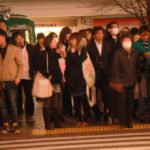 people crossing