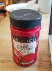 Beetroot Horseradish Relish