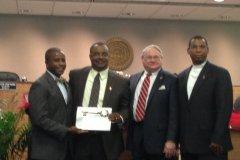 City of North Miami honors past HLA president Hans Ottinot