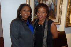 HLA private reception in honor of Commissioner Monestime