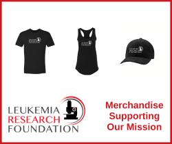 Image of Leukemia Research Foundation logoed apparel