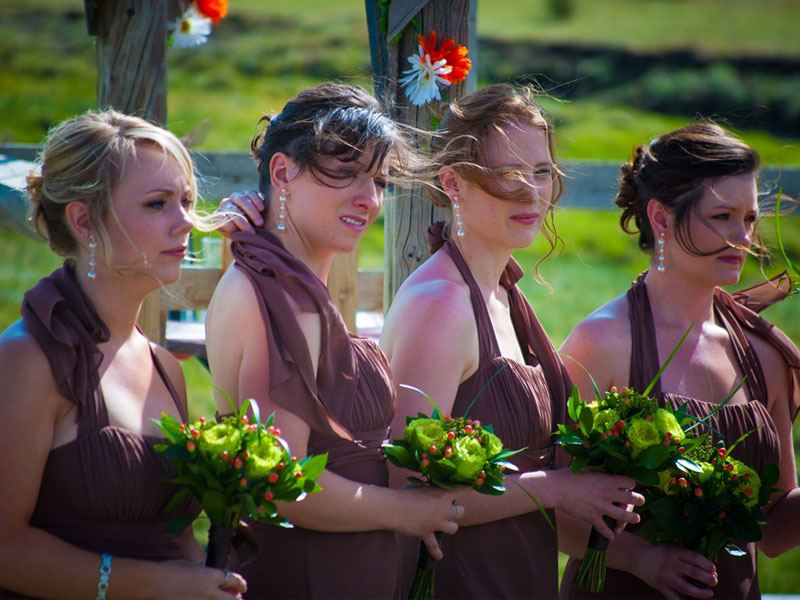 Western Style Ranch weddings near Breckenridge
