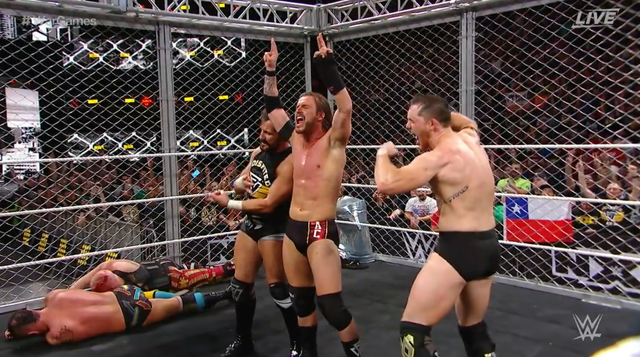 NXT Takeover: War Games Review 11/18/2017