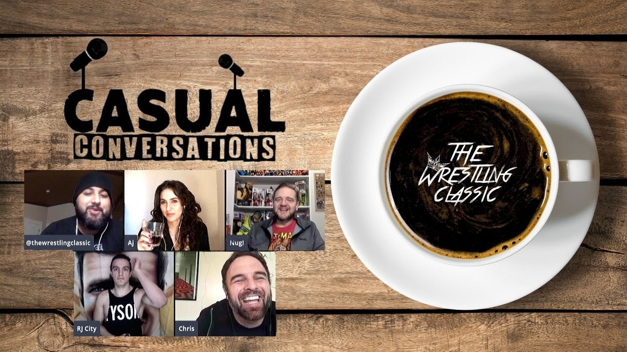 Casual Conversations with The Classic – RJ City, Nug Nahrgang, Christopher Parsons & AJ