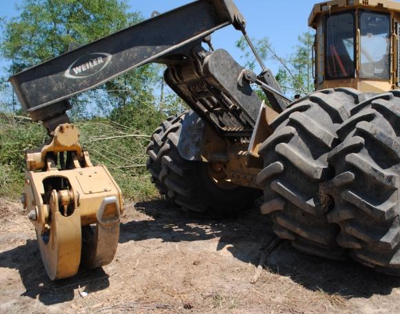 Weiler Forestry Machine