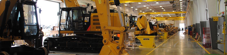 Inside Puckett Machinery Flowood