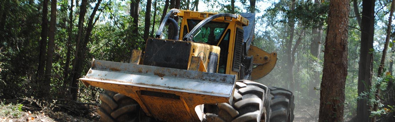 Pucket Forestry Machine