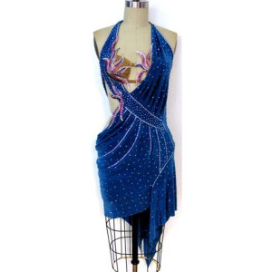 Secret designer latin dance dress for sale