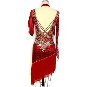 Crimson Flare Dress 2