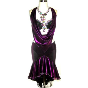 Deep Purple Dress 1