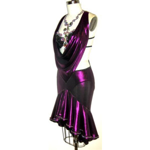 Deep Purple Dress 5