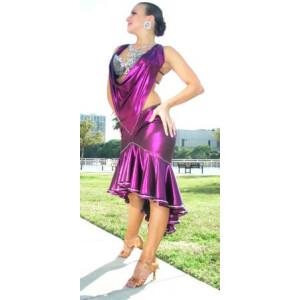 Deep Purple Dress 3