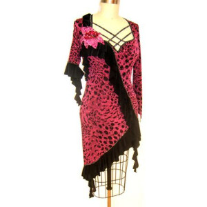 Wild Fuchsia Dress 1