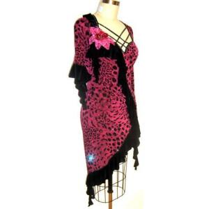 Wild Fuchsia Dress 2