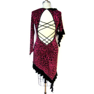 Wild Fuchsia Dress 4
