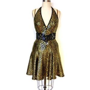 Gold Rush Dress 1