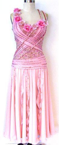 Summer Romance ballroom dance dress by Zhanna Kens