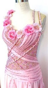 Summer Romance ballroom dance dress by Zhanna Kens