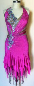 Bliss Dress luxury competition ballroom latin dress front