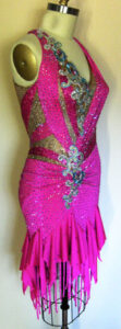 Bliss Dress luxury competition ballroom latin dress right side