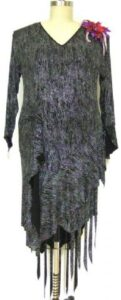Blithe plus size designer competition latin dress front