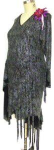 Blithe plus size designer competition latin dress side
