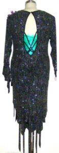 Blithe plus size designer competition latin dress back